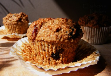 Banana Bran Date Breakfast Muffin Sugar-Free